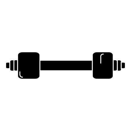 weight lifting gym icon vector illustration design Illusztráció