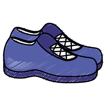 Moccasin shoe isolated icon vector illustration design