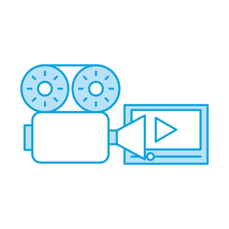 media player isolated icon vector illustration design
