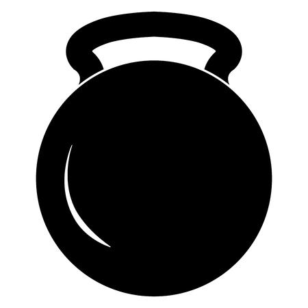 weight lifting gym icon vector illustration design Çizim