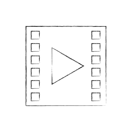 tape media player isolated icon vector illustration design