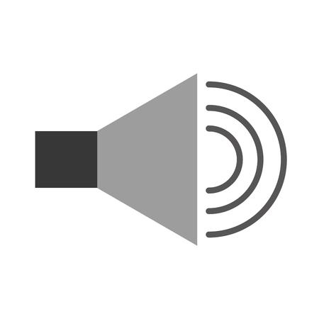 스피커 소리 절연 아이콘 벡터 일러스트 디자인 스톡 콘텐츠 - 84751719