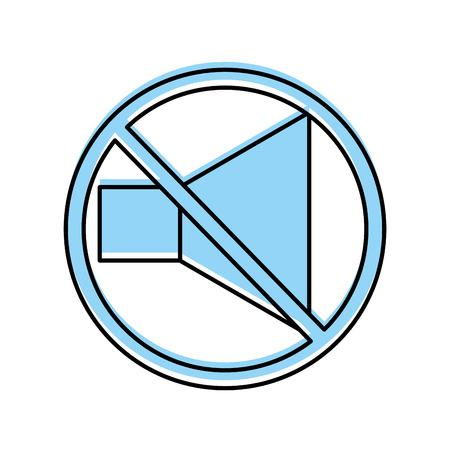격리 된 아이콘 벡터 일러스트 디자인에서 스피커 소리 스톡 콘텐츠 - 84751796