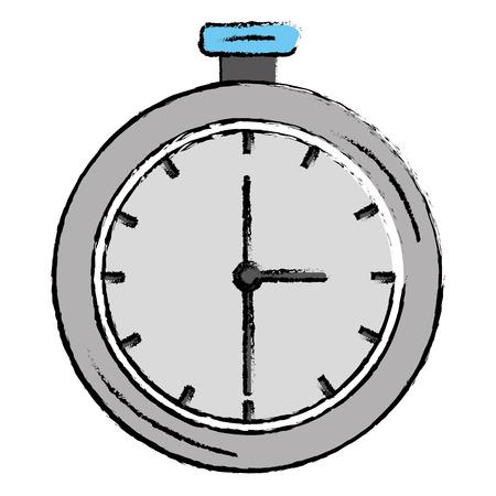 クロノメーター測定分離アイコン ベクトル イラスト デザイン  イラスト・ベクター素材