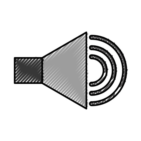 speaker sound isolated icon vector illustration design Çizim