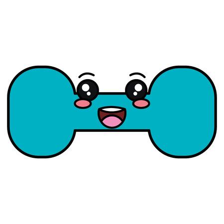 Gewichtheffen gym vector illustratie ontwerp