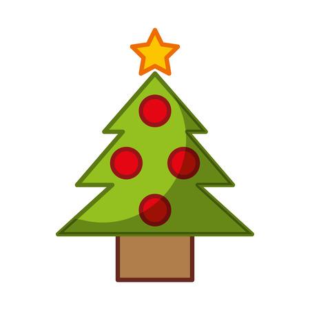pine tree isolated icon vector illustration design Stock Vector - 84749868