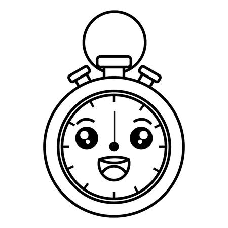 chronometer measure  character vector illustration design Stock Vector - 84755666