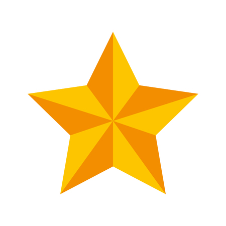 christmas star isolated icon vector illustration design Stock Vector - 84748179