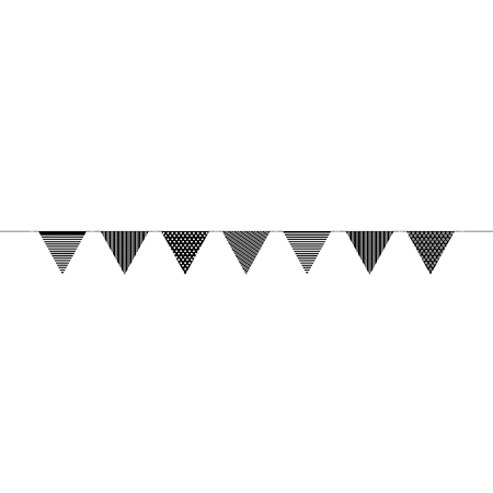 Garlands party decoratie icoon vector illustratie ontwerp