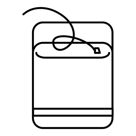 Dental Floss isolated icon vector illustration design