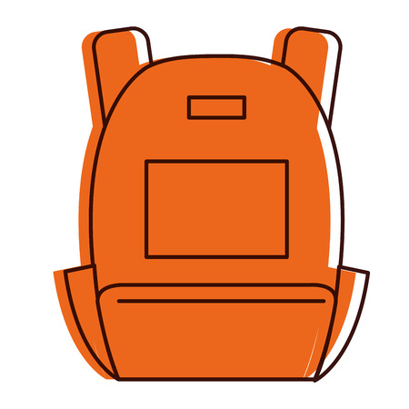 school bag isolated icon vector illustration design Stock fotó - 84823058
