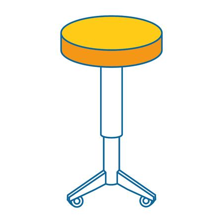 Siège chaise isolé icône vector illustration design Banque d'images - 85046914