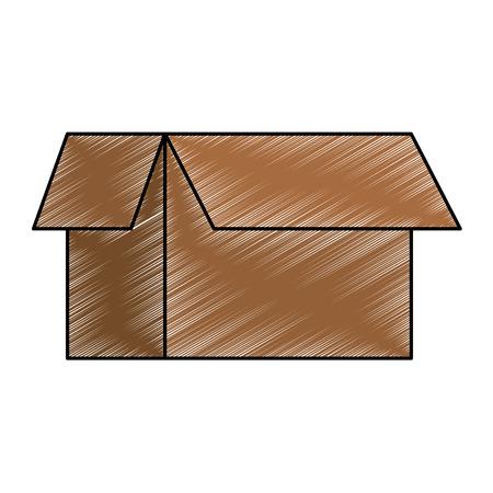 carton box isolated icon vector illustration design 版權商用圖片 - 85056410