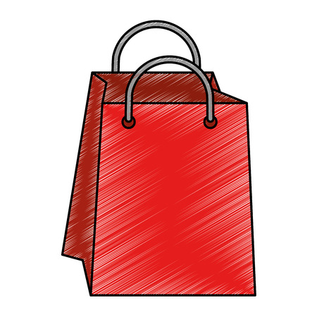 shopping bag isolated icon vector illustration design Stock Vector - 85056411