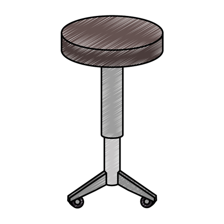 stoel stoel geïsoleerd pictogram vector illustratie ontwerp