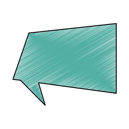 音声バブル メッセージ アイコン ベクトル イラストデザイン