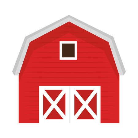 stable building isolated icon vector illustration design