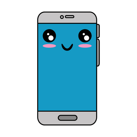 cellphone: Cellphone icon. Illustration