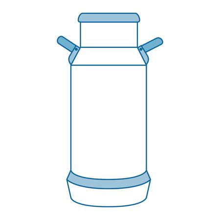 Lait de vache peut icône Banque d'images - 85023752