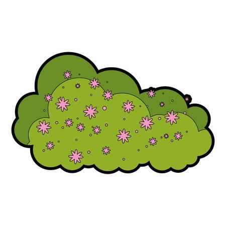 Bush icon illustration. Иллюстрация