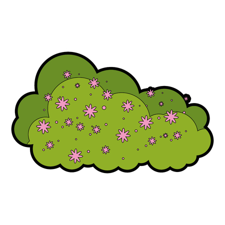 Bush icon illustration. Illustration