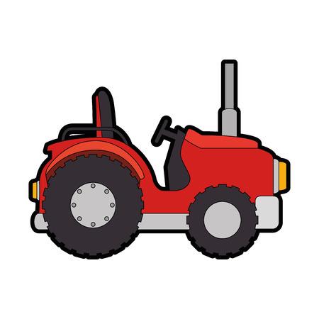 Icono de tractor ranchero. Foto de archivo - 85023923