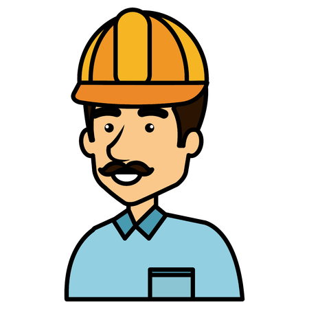 Repairman icon illustration.