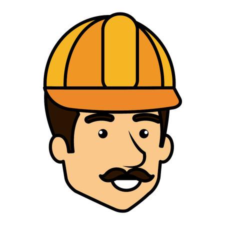 Repairman icon illustration.