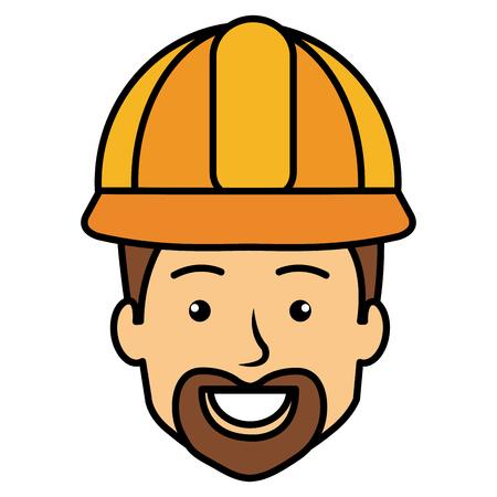 Repairman avatar. 向量圖像