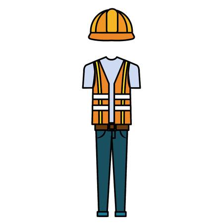 건설 노동자 유니폼 wicon입니다.
