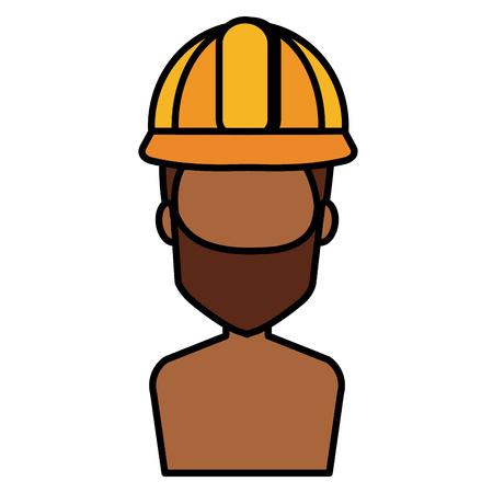 Repairman avatar. Иллюстрация