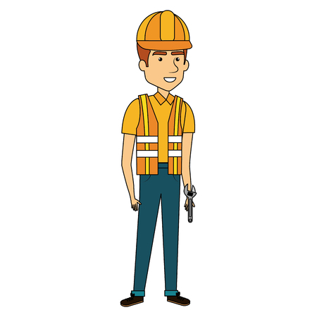 Repairman avatar. Reklamní fotografie - 85024713