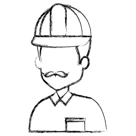 Avatar del reparador. Foto de archivo - 85024731
