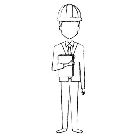 Avatar de Ingeniero. Foto de archivo - 85024840