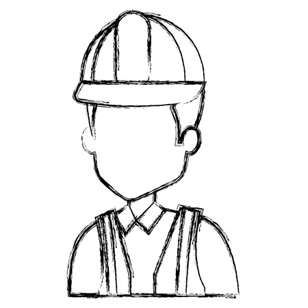 Repairman avatar. Ilustrace
