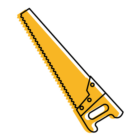 Handsaw icon.