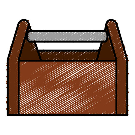 Toolbox icon illustration. Illustration