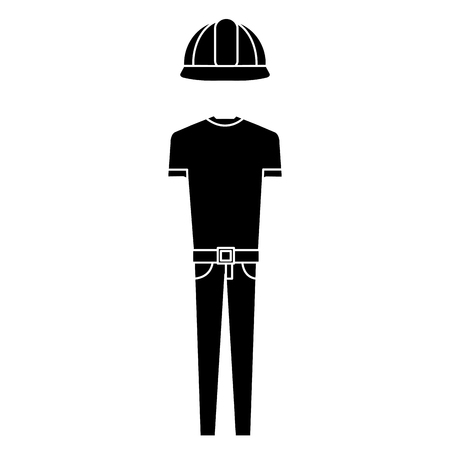 Construction uniform icon. Stock fotó - 85031315