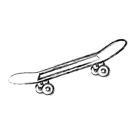Skate board isolated icon vector illustration design Illusztráció