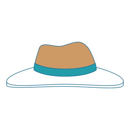farmer hat isolated icon vector illustration design Illustration
