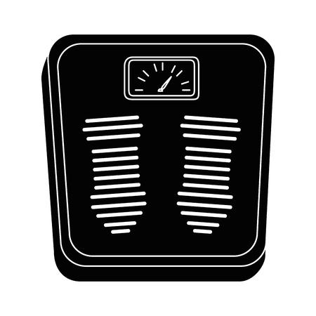 スケール重量測定アイコン ベクトル イラスト デザイン  イラスト・ベクター素材