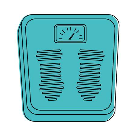 計量スケールアイコンベクトルイラストデザイン