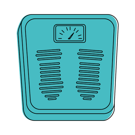 Weighing scale icon vector illustration design