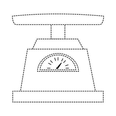 Measure scale icon vector illustration design