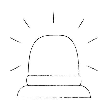 緊急光分離アイコンベクトルイラストデザイン  イラスト・ベクター素材