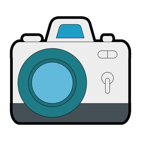 Camera photographic isolated icon vector illustration design 向量圖像