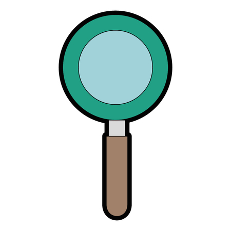 search magnifying glass icon vector illustration design Stok Fotoğraf - 85030780
