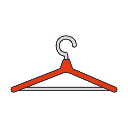 wooden clothespin isolated icon vector illustration design Reklamní fotografie - 85042703