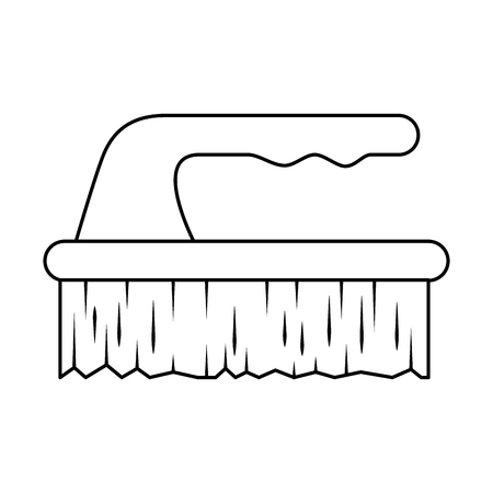 handle brush cleaner icon vector illustration design Stock fotó - 85042829